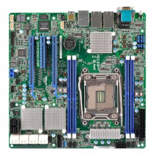 Product image of ASROCK_RACK EPC612D4U Asrock Rack EPC612D4U Server Board Intel C612 2011 Micro ATX Dual GB LAN IPMI LAN Serial Port