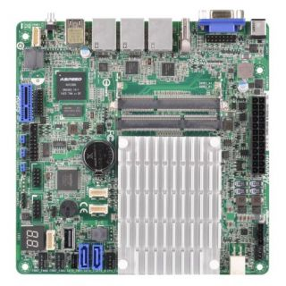 Product image of ASROCK_RACK J1900D2Y Asrock Rack J1900D2Y Server Board Integrated CPU Mini ITX Dual GB LAN USB3 IPMI LAN