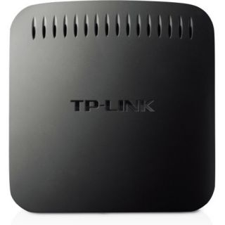 Product image of TP-LINK N600 300Mbps Universal Dual Band WiFi Entertainment Adaptor with 4 Ports (Black)