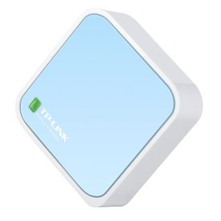 Product image of TP-LINK TL-WR802N 300Mbps Wireless N Nano Router (White/Blue)