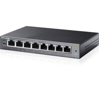Product image of TP-LINK TL-SG108PE 8-Port Gigabit Easy Smart Switch with 4-Port PoE (Black) V1.0