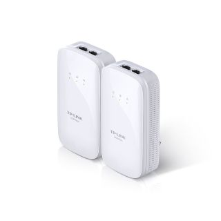 Product image of TP-LINK AV1000 TL-PA7020 1000Mbps 2-Port Gigabit Powerline Starter Kit White (Twin Pack)
