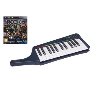 Product image of Mad Catz Rock Band 3 Wireless Keyboard with Rock Band 3 for PS3