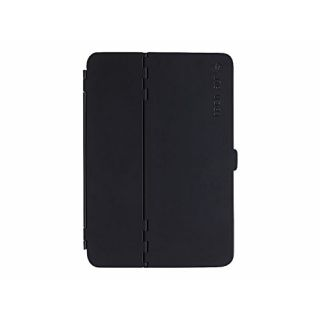 Product image of TECHAIR IPAD Mini 4 hardshell case in black with 3 standing positions, magnetic closure and auto on/off feature
