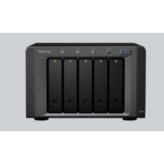 Product image of Synology DX510 5-Bay 15TB (5 x 3TB) Expansion Unit for DiskStation