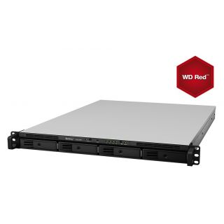 Product image of Synology RackStation RS815+ 32TB (4 x 8TB) 4-Bay High-Performance NAS Server with WD RED Hard Disk Drives