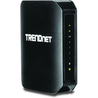 Product image of [Ex-Demo] TRENDnet AC1200 TEW-811DRU Dual Band (867Mbps AC + 300Mbps N) Wireless Router Black (V1.0R) (Opened/ Item As New)