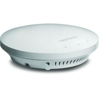 Product image of TRENDnet N600 Dual Band PoE Access Point White (V1.0R)