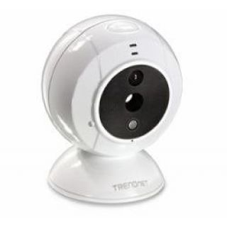 Product image of TRENDnet TV-IP743SIC Wireless-N Baby Monitor Camera (640x480) Speaker Day/Night (V1.0R)