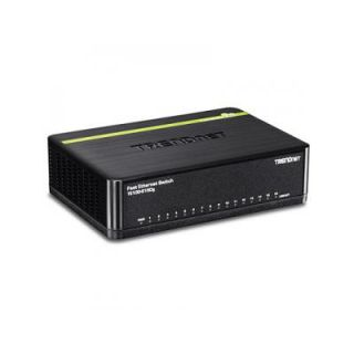 Product image of TRENDNET 16 X 10/100 GREENNET SWITCH DESKTOP IN
