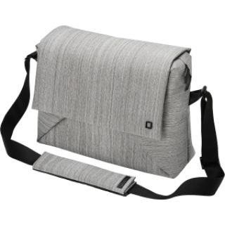 Product image of Dicota Code Messenger Stylish Notebook Bag with Tablet Pocket (2-Tone Grey) for 11 to 13 inch Notebooks