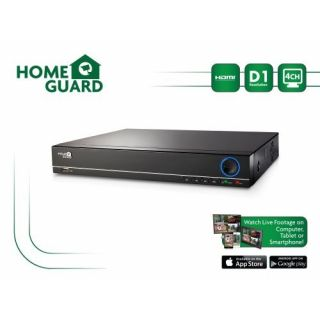 Product image of Storage Options HG4DVR1T HomeGuard 1TB 4-Channel HD Out Digital Video Recorder