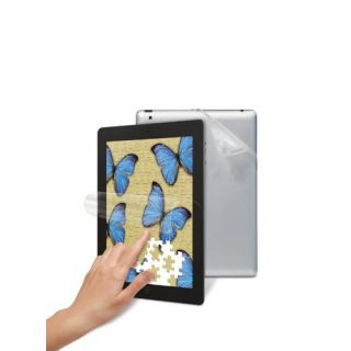 Product image of 3M Natural View NVFFBSIPAD2-1 Fingerprint Fading Screen Protector with Back Skin for iPad 2/iPad 3