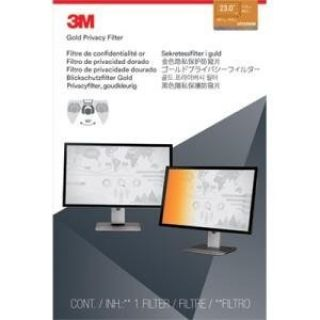 Product image of 3M Frameless Privacy Filter (Gold) for 23 inch Widescreen Desktop LCD Monitors