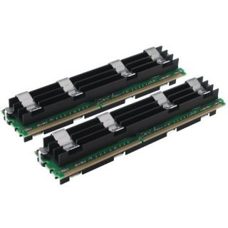 Product image of Crucial 2GB Memory Kit (2x1GB) PC2-5300 667MHz DDR2 Fully Buffered ECC CL5 240-pin DIMM