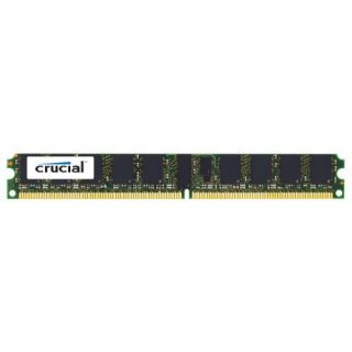 Product image of Crucial 2048MB PC2-5300 667MHz DDR2 240-pin DIMM CL5 Registered ECC Memory Module (Low Profile)