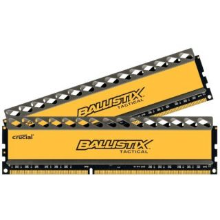 Product image of Lexar 8GB kit (4GBx2) DDR3 1333 MT/s (PC3-10600) CL7 @1.5V Ballistix Tactical UDIMM 240pin