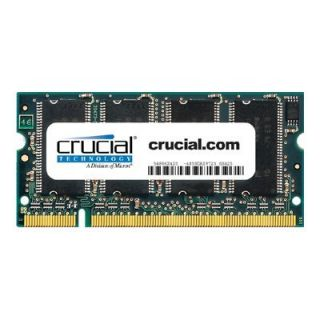 Product image of Lexar  Crucial NOTEBOOK 1GB DDR 333MHz (PC2700) CL2.5 SODIMM 200-pin