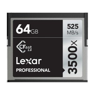 Product image of Lexar Professional 3500x (64GB) CFast 2.0 Cards