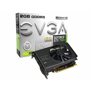 Product image of EVGA GeForce GTX 750 Ti Superclocked (2GB) Graphics Card PCI-E DVI HDMI DisplayPort