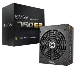 Product image of EVGA 220-G2-0750-XR EVGA SuperNOVA 750w GOLD PSU