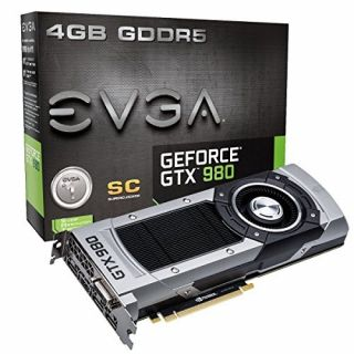Product image of EVGA GeForce GTX 980 Superclocked (4GB) Graphics Card PCI-E DVI HDMI DisplayPort