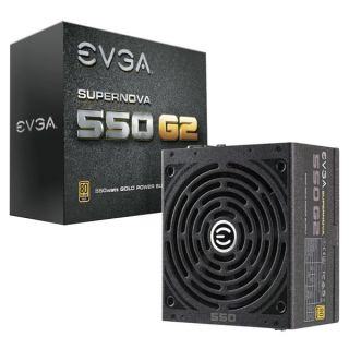Product image of EVGA 220-G2-0550-Y3 EVGA 550W Gold Fully Modular PSU