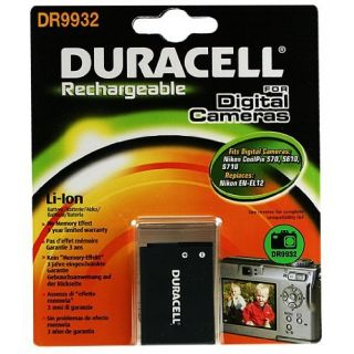 Product image of Duracell 1000MaH 3.7V Lithium Rechageable Camera Battery