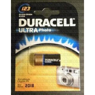 Product image of Duracell CR123 CR17345 EL123AP DL123A Lithium Photo Battery