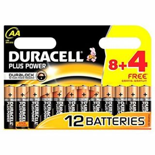 Product image of Duracell Plus Power AA 12 Pack