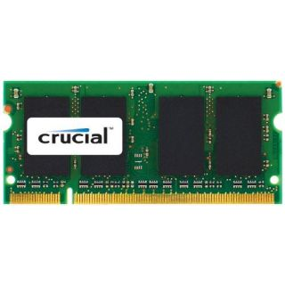 Product image of Crucial 4GB Memory Kit (2x2GB) PC3-10600 1333MHz DDR3 Unbuffered Non-ECC CL9 204-pin SO-DIMM for MAC