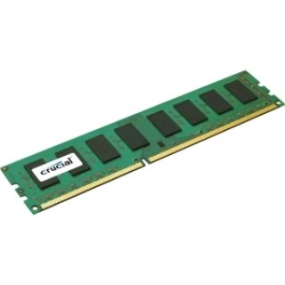 Product image of Crucial 4GB Memory Module PC3-12800 1600MHz DDR3 Unbuffered Non-ECC CL11 240-pin DIMM