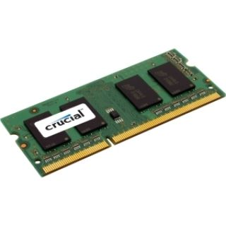 Product image of Crucial 1GB Memory Module PC3-10600 1333MHz DDR3 Unbuffered Non-ECC CL9 204-pin SO-DIMM