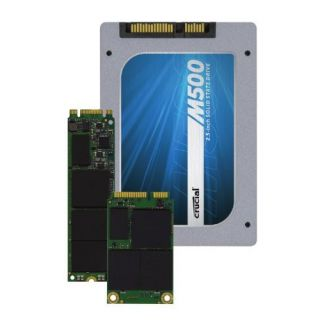 Product image of Crucial M500 (240GB) 2.5 inch Solid State Drive 6Gb/s SATA with 9.5mm Adaptor (Internal)