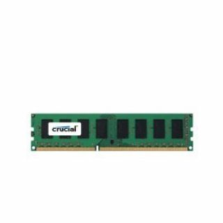 Product image of Crucial 32GB Memory Kit (2x16GB) PC3-12800 1600MHz DDR3 Registered ECC CL11 240-pin DIMM (Very Low Profile)