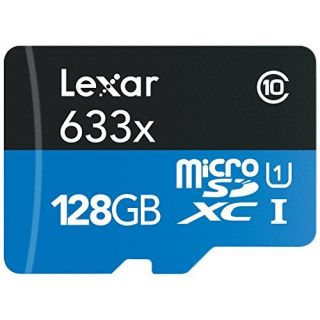 Product image of [Ex-Demo] Crucial / Lexar 128GB microSDXC UHS-I High Speed with Reader (Class 10) (Opened / Item as new)