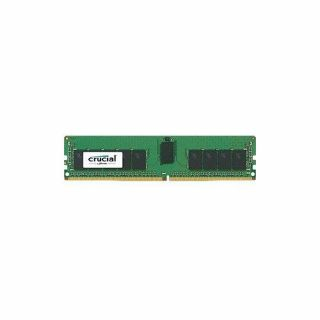 Product image of Crucial 16GB Memory Module PC4-19200 2400MHz DDR4 Registered ECC CL17 RDIMM (Single Ranked)