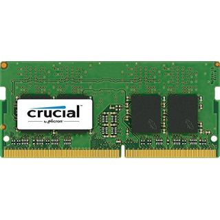 Product image of Crucial 16GB Memory Module PC4-17000 2133MHz DDR4 Unbuffered Non-ECC CL15 SO-DIMM (Dual Ranked)