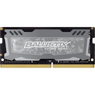Product image of Crucial Ballistix Sport LT 16GB Memory Module PC4-19200 2400MHz DDR4 Unbuffered Non-ECC CL16 260-pin SO-DIMM