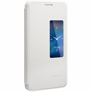 Product image of HUAWEI HONOR 6  VIEW FLIP CASE WHITE .