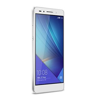 Product image of HUAWEI HONOR 7 5.2IN SILVER 16GB WIFI BT AND5.0 IN