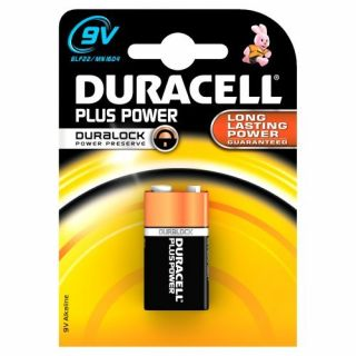 Product image of 2-POWER Duracell Plus Power 9v 1 Pack