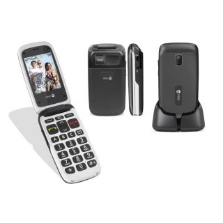 Product image of Doro PhoneEasy 612 (2MP) Mobile Phone (Black/White)