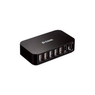 Product image of D-Link DUB-H7 USB 2.0 7-port Hub