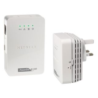 Product image of [Ex-Demo] Netgear Wall Plugged Wireless-N Powerline AV 200 Extender Kit (Opened/ Missing Ethernet cable and Setup CD)