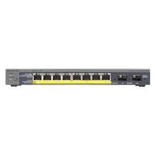 Product image of Netgear GS110TP 8 Port Gigabit POE Smart Switch with 2 Gigabit Fiber SFP