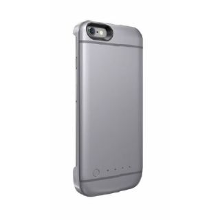 Product image of Energizer AE2200-BK Smart Battery Case for Apple iPhone 6 - Space Grey - [Apple MFI certified]