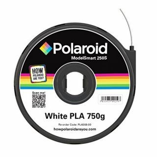 Product image of Polaroid - White - 750 g - PLA filament cartridge ( 3D )