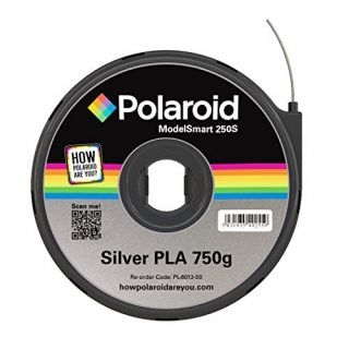 Product image of Polaroid - Silver - 750 g - PLA filament cartridge ( 3D )