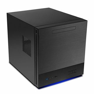 Product image of Antec ISK600M Micro-ATX Desktop Computer Enclosure (Black) with No Power Supply